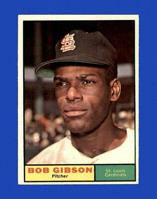 1961 Topps Set Break #211 Bob Gibson EX-EXMINT m01049