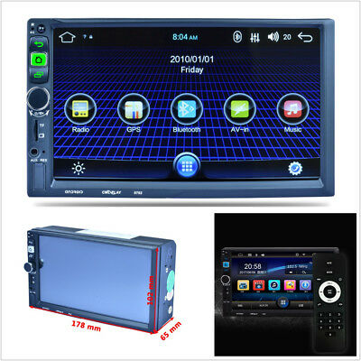 7'' Capacitive Touch 1080P Built-in Wifi Car GPS Navigation Bluetooth MP5 Player