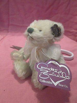 "5"" Annette Funicello Lime Sublime Jointed Teddy Bear"