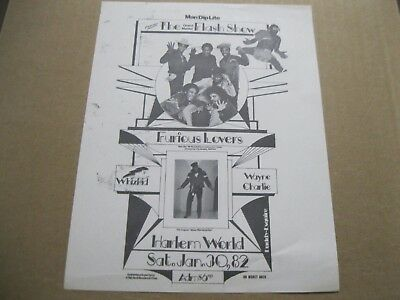 Rare Hip Hop The Grand Master Flash Show And Furious Lovers -Whiz Kid -Kevie Kev