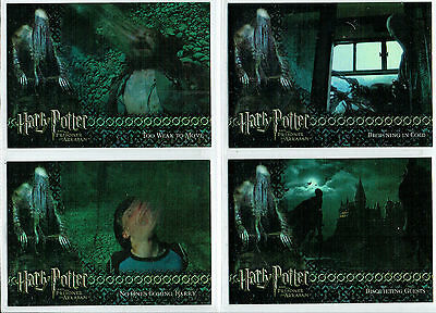 Harry Potter And The Prisoner Of Azkaban Update Set Of Box Foils