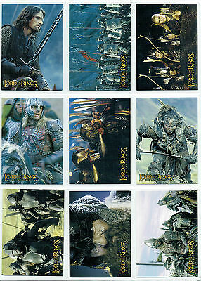 Lord Of The Rings Two Towers Set Of 10 Non Foil Hobby Japan