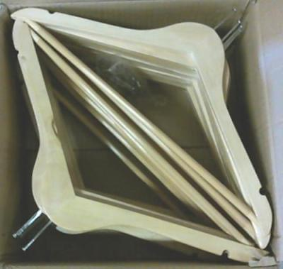 NEW Honey-Can-Do 24 Pack of Hotel Suit Hangers Maple HNG-0173324 $64