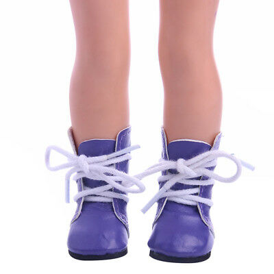 2017 Best Sweet Leather Shoes  Clothes Set For 14 Inch American Girl Doll n1313