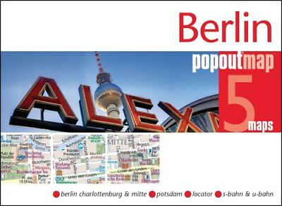 Berlin PopOut Map by PopOut Maps 9781910218464 (Sheet map, folded, 2017)