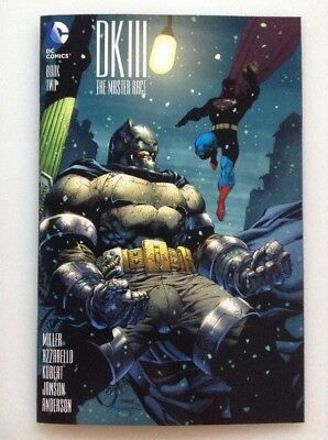 Dark Knight Iii The Master Race Bok Two Color Variant By Jim Lee