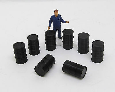 Drums  1:50 Scale 44 Gallon Drums 3D to Scale 50-100-HB