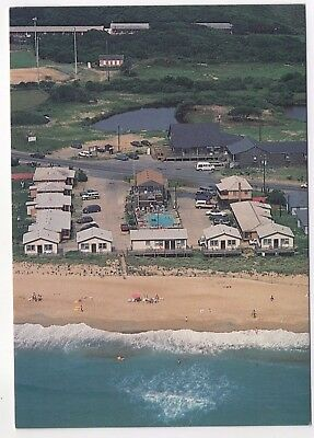 NC North Carolina Buxton Cape Hatteras OBX Outer Banks View Dare County Postcard