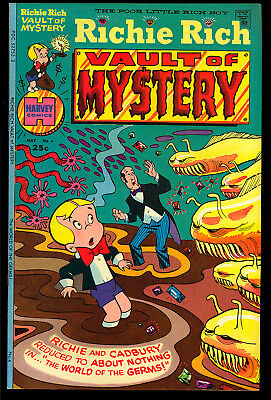Richie Rich Vaults of Mystery #4, 5, 11 File Copy GROUP (3 Comics) 1975 VF/NM
