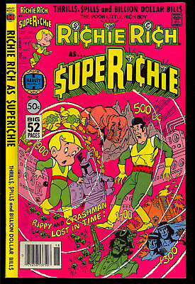 Super Richie #18 High Grade Richie Rich Last Issue Harvey File Copy 1979 VF-NM