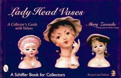 Vintage Lady Head Vases Collectors Guide incl Napco, Royal Copley & Others