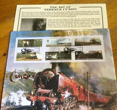 Benham Railways Terence Cuneo Cover Excellent Condition Limited Edition