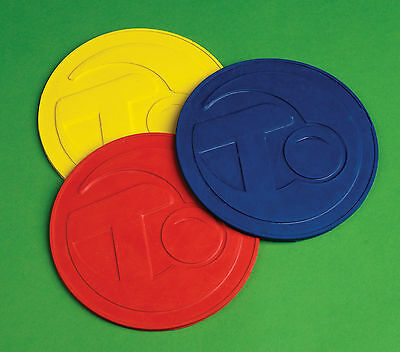 Thomas Taylor Bowls Crown Green Bowls Rubber Mat Footer Blue, Red Or Yellow