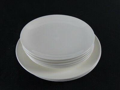 BULK lot of Wedgwood FORMAL WHITE bone China Plates made in England ( 8)