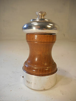 Silver mounted Peugeot Pepper Mill   ref 2882