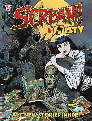 SCREAM & MISTY Halloween Special 2017 - 2000AD - NEW