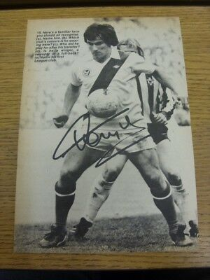 1976/1977 Autographed Magazine Picture: Crystal Palace - Taylor, Peter. Bobfrank