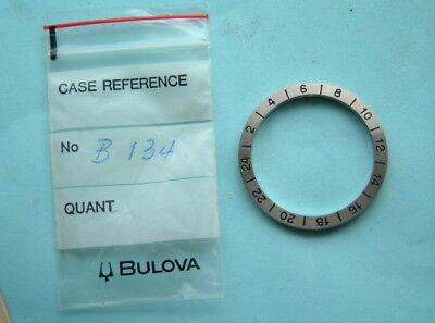 Watchmakers Bulova accutron B134 Astronaut 24 Hour Rotating Bezel New old stock