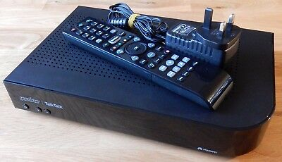 Talktalk Youview Freeview Set Top Box - Record And Watch Sd/hd Programmes Dn370T