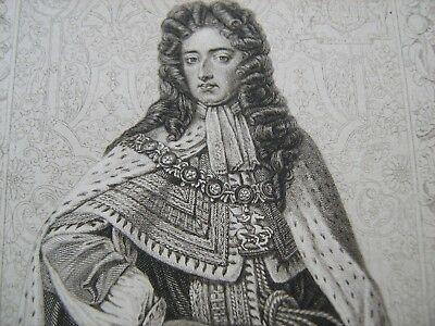 ENGRAVED PORTRAIT OF WILLIAM III, by Blackie and Sons, about 1880
