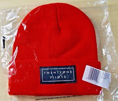 Twenty One Pilots 'Logo' Beanie Hat - NEW & SEALED Officially Licensed Product