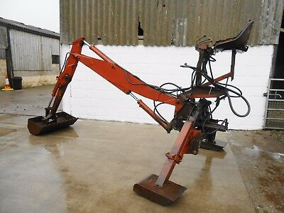 14' McConnel Back Actor, Back Hoe, Tractor Mounted Minidigger, Trencher & Bucket