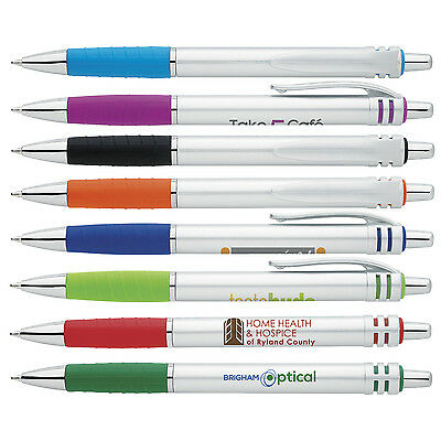 Blue Ink Pens Personalized Custom Promotionals Cheap Customer Handout Giveaways
