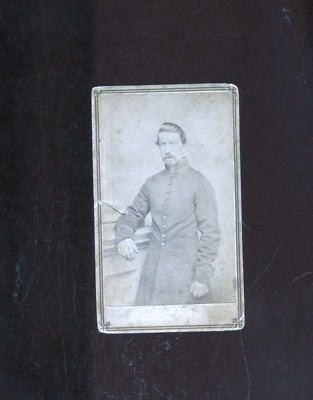 Civil War carte de visite photo of a soldier, Washington Gallery Providence RI