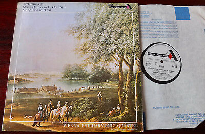 Decca Sdd 376 Schubert String Quintet/trio Lp Vienna Nm- (1973) England (Re)