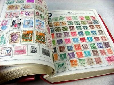 CHINA, PRC, WW, BRITISH COLONIES, 4000+ STAMPS hinged in a Minkus Comprehensive