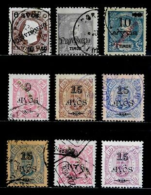 Timor, Portugal: Classic Era Stamp Collection All Sound Cv $24.70