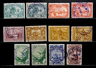 Timor, Portugal: 1898 Classic Stamp Collection #45-52 With Extra, Vasco Da Gama