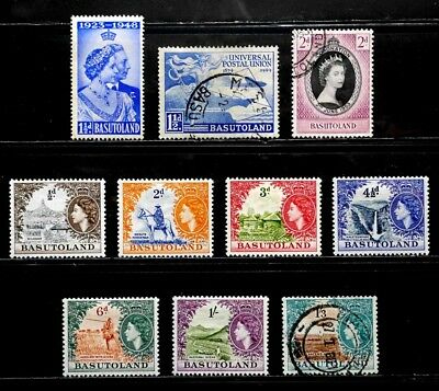 Basutoland, British: 1948-54 Stamp Collection Sound