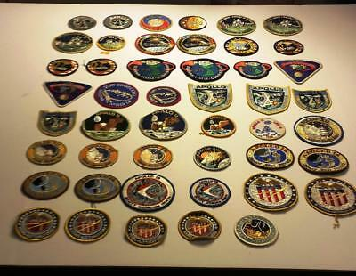 47 Mixed Lot of NASA Various Apollo Missions Patches Nice Collection!