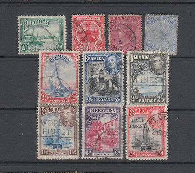 A very nice old Bermuda group of issues