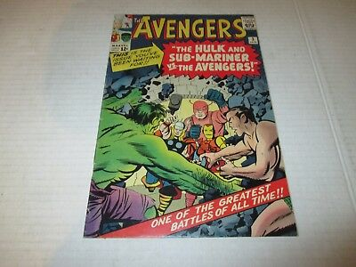 The Avengers #3 Key Issue 2nd Sub Mariner X-Over