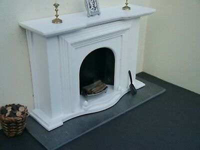 RICHARD STACEY REAL SLATE 1:12th Scale Miniature / Dolls House Fireplace Hearth