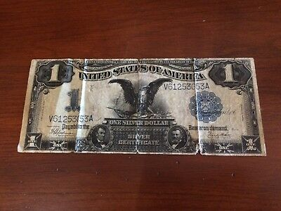 1899 $1 United States Silver Certificate Large US currency