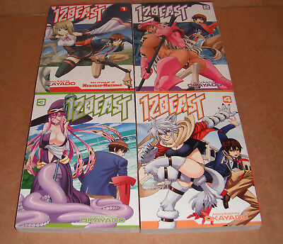12 Beast Vol. 1,2,3 Manga Graphic Novels Set English