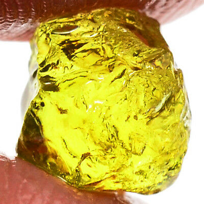 IF BEST COLOR 4.15ct NATURAL100% UNHEATED YELLOW MALI GARNET ROUGH FACET NR!