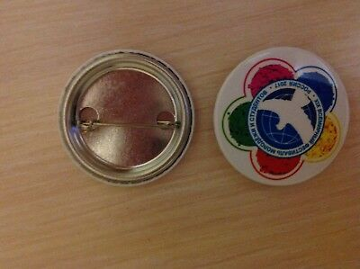 Pin badge used in World Youth & Students Festival 19th in Sochi, Russia 2017