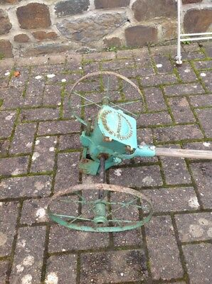 Antique Seed Drill By W Brenton & Co, St. Germans, Cornwall