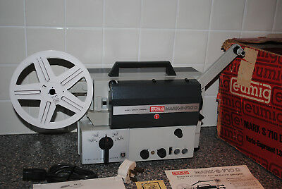 EUMIG MARK-S-710D 8MM Sound Projector - Great Condition (Needs New Bulb)
