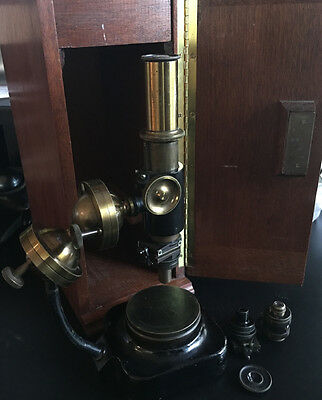 Rare Martens' Ball-and-Socket Metallurgical Microscope by C. Zeiss