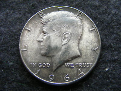 USA Half Dollar 1964 Silver Kennedy