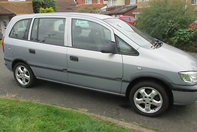 "Vauxhall Zafira Club 7 Seat 7 Months MOT Tow Bar CD 16"" Alloys Cheap Family Car"
