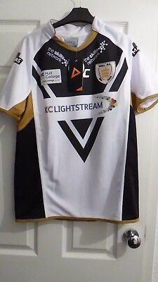hull fc rugby shirt,new with label