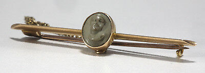 Antique 15 Ct Gold Tie Pin Broach