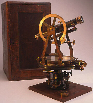 Improved Transit Theodolite by Benjamin Pike & Sons