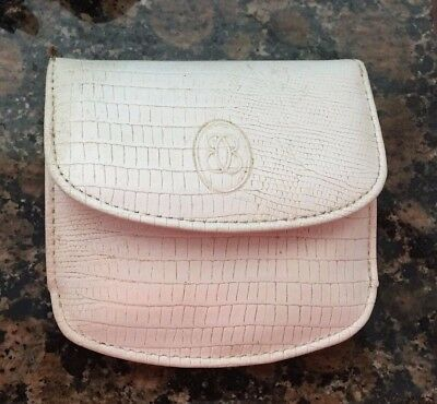 Vintage Buxton Coin Purse Wallet Genuine Leather